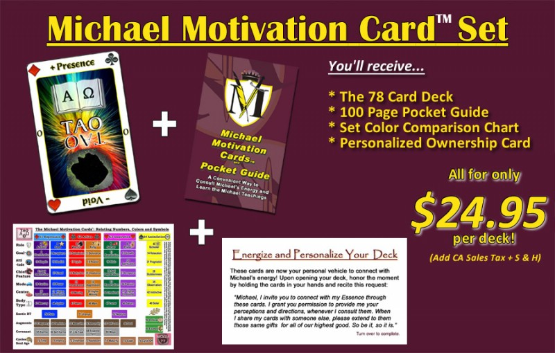 he Michael Motivation Cards are now ONLY $24.95!